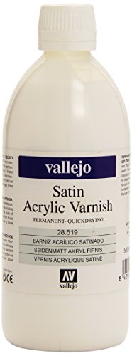 Liquid Varnish - 500ml Satin