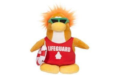 Lifeguard Club (Disney Club Penguin Series 8 Plush Lifeguard by Jakks Pacific)