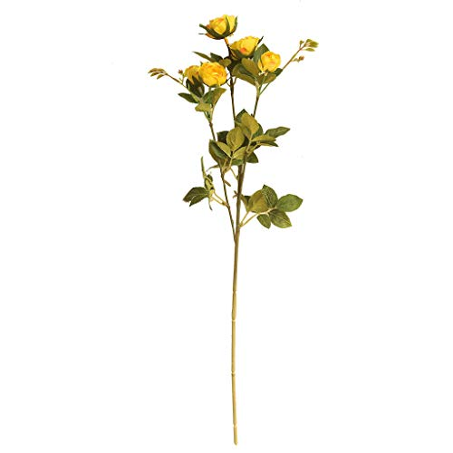 TAOtTAO Teerose künstliche Blume Künstliche Pfingstrosen-Blume für Hochzeitsfest-Hauptdekor-gefälschte Blumen-Brautstrauß (F) (Blaue Hortensie Brautstrauß)