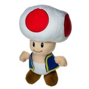 Super Mario Brothers 20cm Plüschfigur Figur: Toad