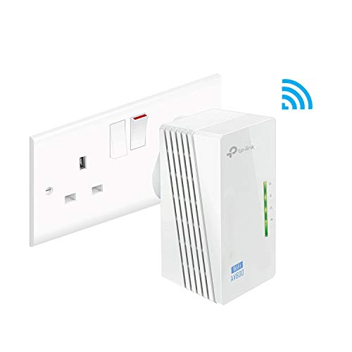 Price comparison product image TP-Link TL-WPA4220 V1.2 2-Port Add-On Powerline Adapter,  Range Extender,  Broadband / WiFi Extender,  WiFi Booster / Hotspot,  No Configuration Required,  UK Plug (Certified Refurbished)