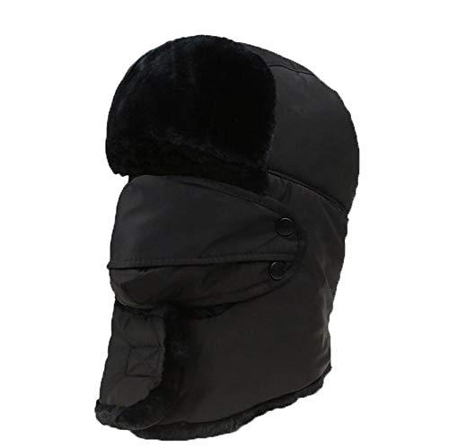 Preisvergleich Produktbild Kalte Maske,  Radfahren,  Kalte Hut Maske,  Male Elektro-Motorrad,  Full Face,  Windproof Maske,  Winter Warm Riding Equipment, Black