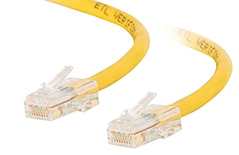 C2G 3m Cat5e Non-Booted Unshielded (UTP) Network Crossover Patch Cable - Yellow