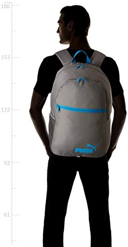 Best puma backpack in India 2020 PUMA 27 Ltrs Quiet Shade-Hawaiian Surf Laptop Backpack (7554205) Image 4