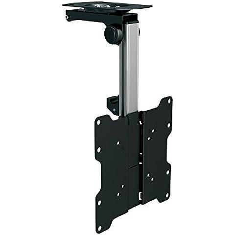 Sentivus Soporte de Techo para TV (DWH-37) - inclinable hasta 105° - ideal para techo con declive - altura ajustable - carga máx. 20kg - para televisor hasta 37' pulgadas - VESA máx. 200x200