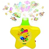 Webby Sleeping Stars Projector with Light and Music for Newborn, Multi Color