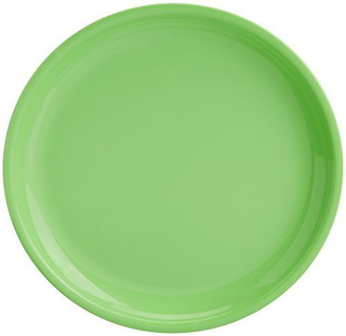 Signoraware Round Full Plate Set, Set of 3, Parrot Green