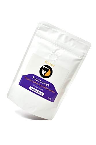Kopi Luwak Organico Premium (Café de Luwaks silvestres) - Molido Medi