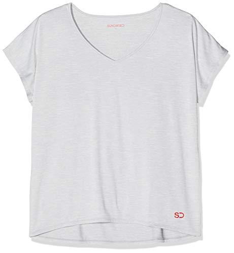 Sundried Damen Weites Yoga Fitness Training T-Shirt von Ethical Activewear Designer Locker Baggy Ultra Weich (XX-Large)