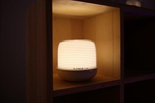 MiPow LED de vela con aplicación de control, plástico, 0.04W, funciona con pilas de individualmente, 9.2x 9.2x 8.9cm