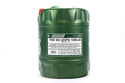 60L FF TRD E6 UHPD 10W-40 / LKW NKW Traktor Motoröl VDS-4 DPF
