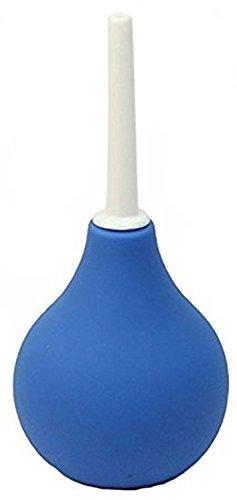 Lumanuby Poire à lavement Douche Système Rectal Boule Bleu Nettoyage Anal Anus Côlon-couleur bleu 224 ml