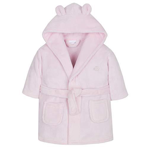 Wunderschön Baby ankleiden Kleid in Entweder Pink oder blau Weicher Flauschiger Fleece - Rosa Elefant, 86-92