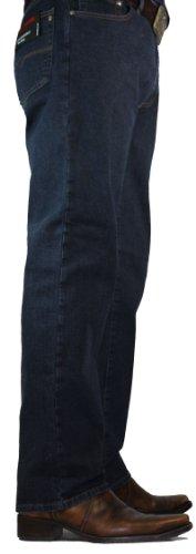 Pierre Cardin Stretch-Denim Regular Fit Jeans Style Dijon - 30er, 32er, 34er + 36er-Länge Blau