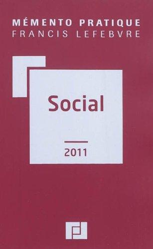 Mémento social par Francis Lefebvre