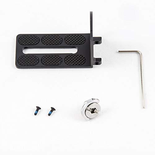 Preisvergleich Produktbild Für FeiyuTech RX0 Kamera Halterung Platte Clip Für Feiyu Technologie RX0 G5 G6 WG2 Handheld Smartphone Hand Gimbal Stabilisator
