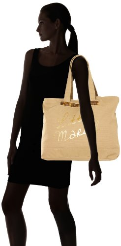Little Marcel Styli Tote Bag Taupe