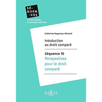 Introduction au droit comparé - Séquence 10. Perspectives pour le droit comparé (Séquences)