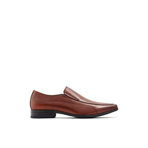 ALDO Herren Men's Dress Loafers Shoes, Edmondson Halbschuhe, Cognac, 44 EU