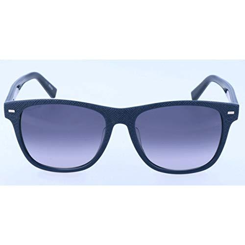Ermenegildo Zegna Herren EZ0020-F Sonnenbrille, Blau, 56