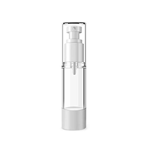 MSYOU Botella de espray cilíndrico, 3 Unidades, para cosméticos, Protector Solar, dispensador de aceites Esenciales, Botella de espray Transparente, 15ml, 10 * 9.8cm