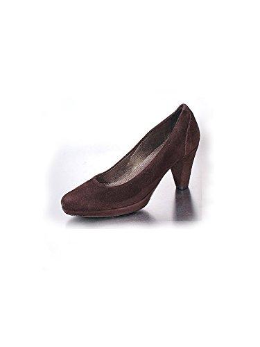 Marion Spath , chaussures compensées femme Marron - Marron