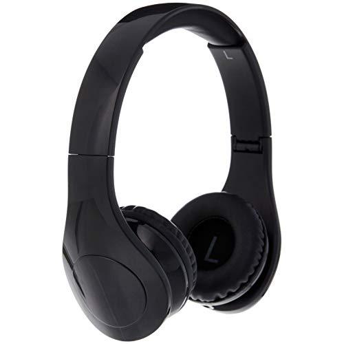 AmazonBasics - Over-Ear-Kopfhörer für Kinder, mit begrenzter Lautstärke, Kabel und zwei Anschlüssen zum Teilen, Schwarz (Kopfhörer-kabel-teile)
