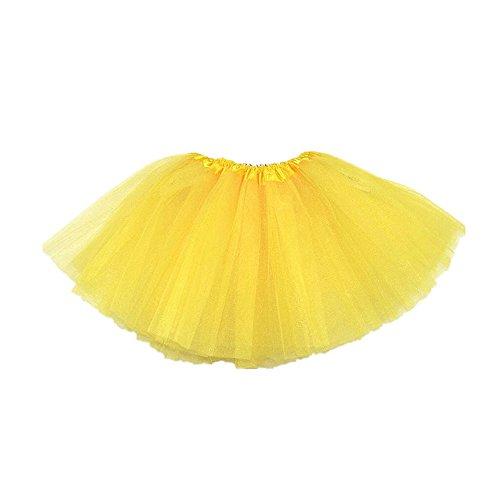 Minirock Mädchen Organza Pettiskirt 3 Schichten Petticoat Frauen Tanz Kleid Unterrock Spitze, Organza, Ballett Tutu Rainbow Checkers