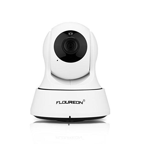 Floureon 720P Wireless Telecamera IP HD 1.0MP WLAN H.264 Sorveglainza
