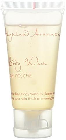 Scottish Fine Soaps BY063-BW Highland Aromatics Dewy Body Wash, 50 mL (Pack of 50)