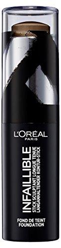 Contour Gesicht (L'Oréal Paris Infaillible Kontur-Stick Foundation 240 Expresso, 1er Pack (1 x 9 g))