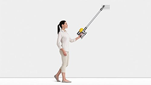 Dyson v6 Slim Staubsauger Kabellos, gelb, 73 x 15 x 3 cm, Kunststoff, 73x15x3 cm
