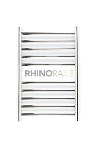 rhinorails 600mm x 360mm Ergo (plano), acero inoxidable–Toallero eléctrico calefactor |–Baño Radiador
