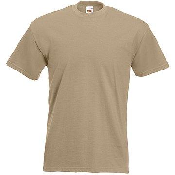 fruit-of-the-loom-t-shirts-5er-pack-lkhaki