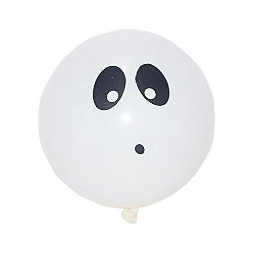 Neue Packung von 5 Ghost Illoom Light up LED Ballons Halloween Ballons Packung von 5 Spooky wie gesehen auf Dragons den Light up Ballons Party Dekor Luminous Ballons