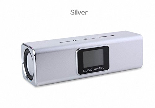 Original Music Angel - 6 in 1 Stereo Mini Lautsprecher (Silber) (6 In 1 Music Player)