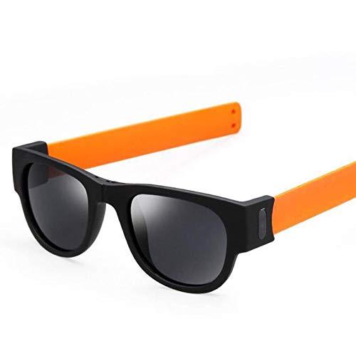 QinMM Creative Wristband Glasses Polarized Sunglasses Driving Goggles Snap Armband