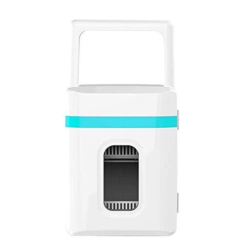 LMDC Mini Kühlschrank Kühler & Wärmer |10L Kapazität |Kompakter, tragbarer und leiser Lebensmittel- und Getränkekühler Ideal for Büros (Color : Blue)