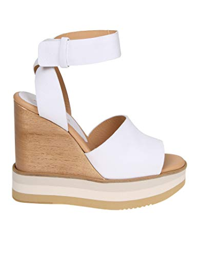 b8f61a7d434 PALOMA BARCELÓ Women s Ayakawhite White Leather Sandals