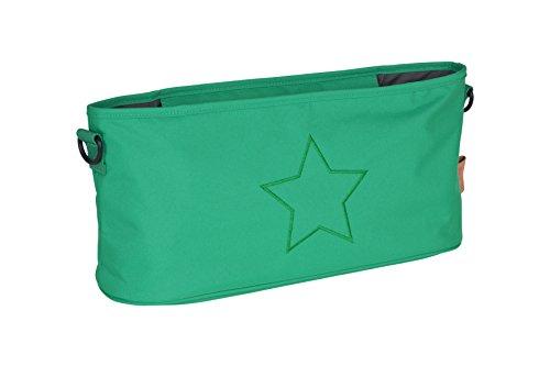 Lässig Casual Buggy Organizer Kinderwagenorganizer-/tasche mit Reißverschluss, Star, deep green