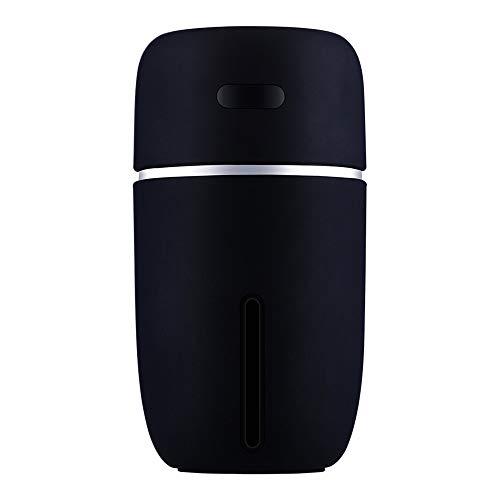 Aroma Diffuser, Holeider Luftbefeuchter Ultraschall LED Aromatherapie Ätherisches Oil Diffusor Duftzerstäuber Warmes Nachtlicht 200ml USB Humidifier für Babies Yoga Kinderzimmer