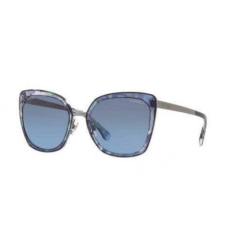 Chanel ch4209 c465s2 occhiali da sole blu blue sunglasses sonnenbrille donna