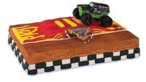 Monster Jam Grave Digger Truck Cake Topper by Cake Decorating (Monster Truck Grave Digger)