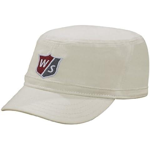 Wilson FG Tour–Engineer Tapa. Color blanco. Bajera ajustable grande a Extra grande