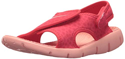Nike Mädchen Kindersandale Girls Sunray Adjust 4 Riemchensandalen Tropical Pink/Bleach 608, 32 EU