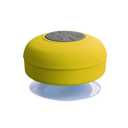 Wasserdichte Drahtlose Bluetooth-Lautsprecher-Badezimmer Mini Modische Musikinstrumente Mit Eingebautem Mikrofon, Freisprechen, Einzigartiges Wasserdichtes Design, Für Badezimmer, Strand, Schwimmbad (Drahtloses Konferenz-lautsprecher)