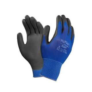Handschuhe HyFlex 11-618 Gr.11 blau/schwarz Nyl.m.Polyurethan EN 388 Kat.II