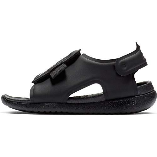 Nike Sunray Adjust 5 (TD), Sneaker Bambino, Nero (Black/White 001), 27 EU