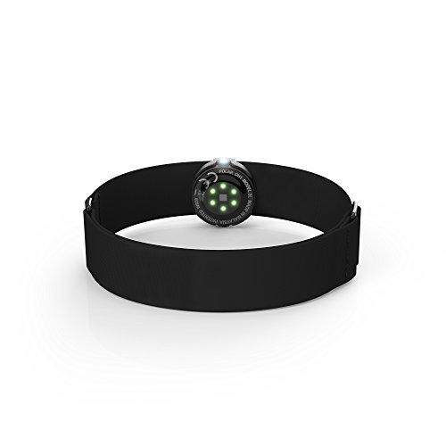 Polar OH1 Bluetooth Smart Unisex - Erwachsenen-Frequenzsensor mit Arm mit optischem Auto 6 LED, kompatibel mit Bluetooth-Geräten - Erwachsene, schwarz, M-XXL