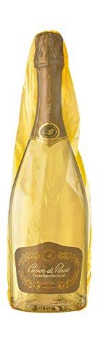 Terre bentivoglio cuvee di pinot 98 spumante extra dry (con sacchetto) - 6 bottiglie da 750 ml